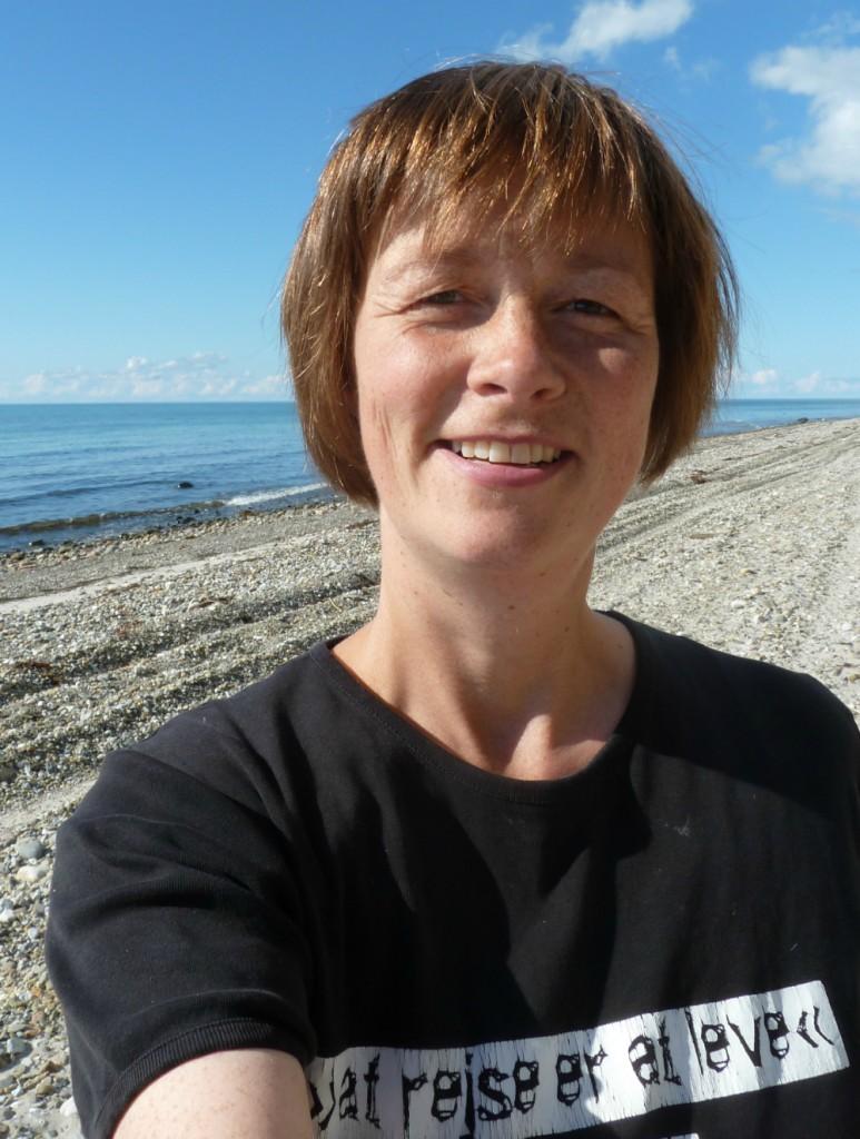 Anne Damkjer Lautrup - øpræst på Anholt