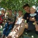 Familien, der flyttede til Anholt…