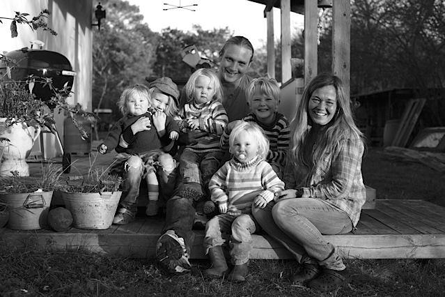 Hylby familien på Anholt