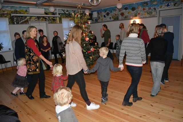 Juletræsfest på Anholt