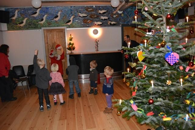 Julen på Anholt