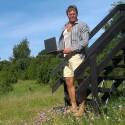 Mærsk's mand har hjemmearbejdsplads på Anholt